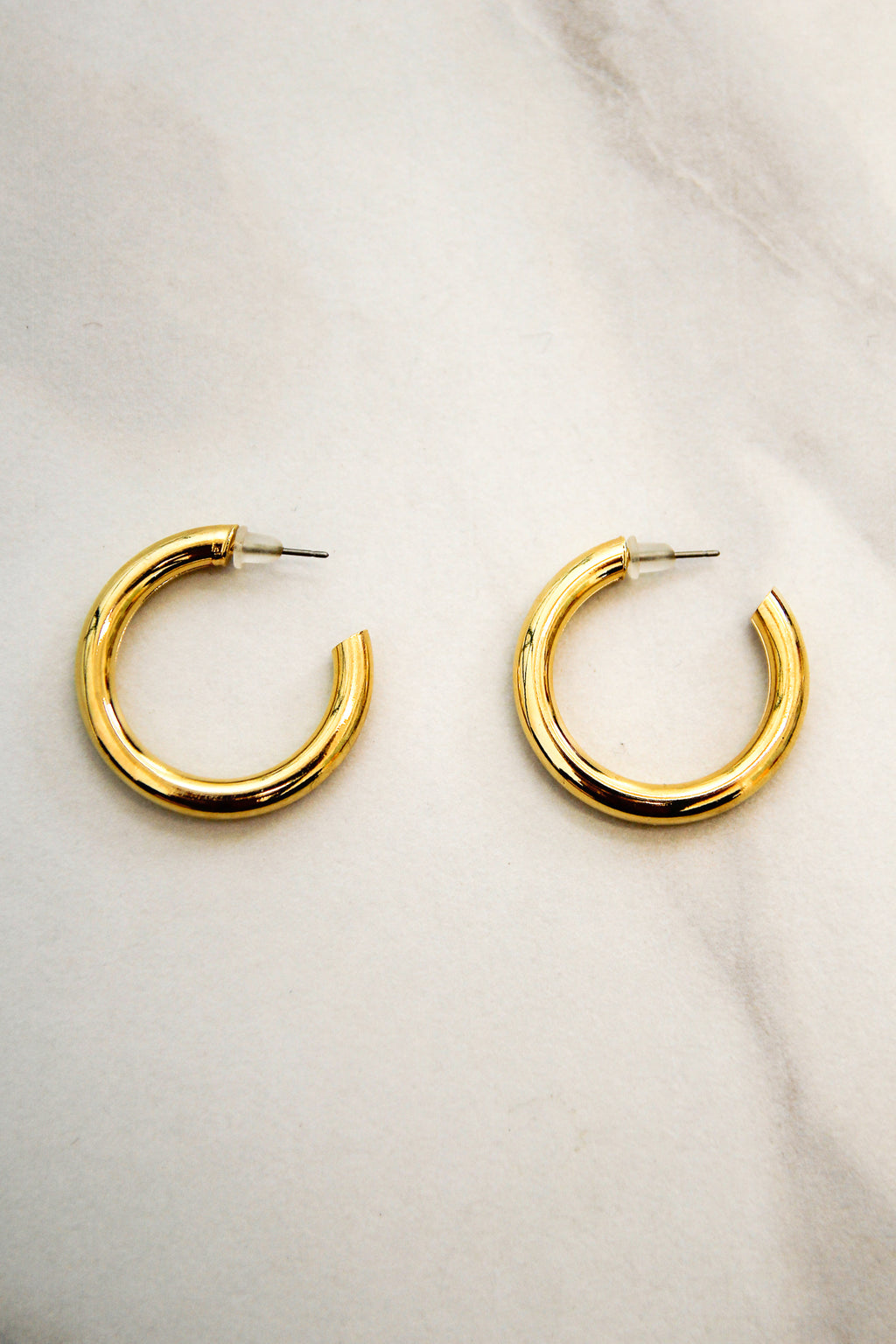 Good Tidings Hoop Earrings - Gold