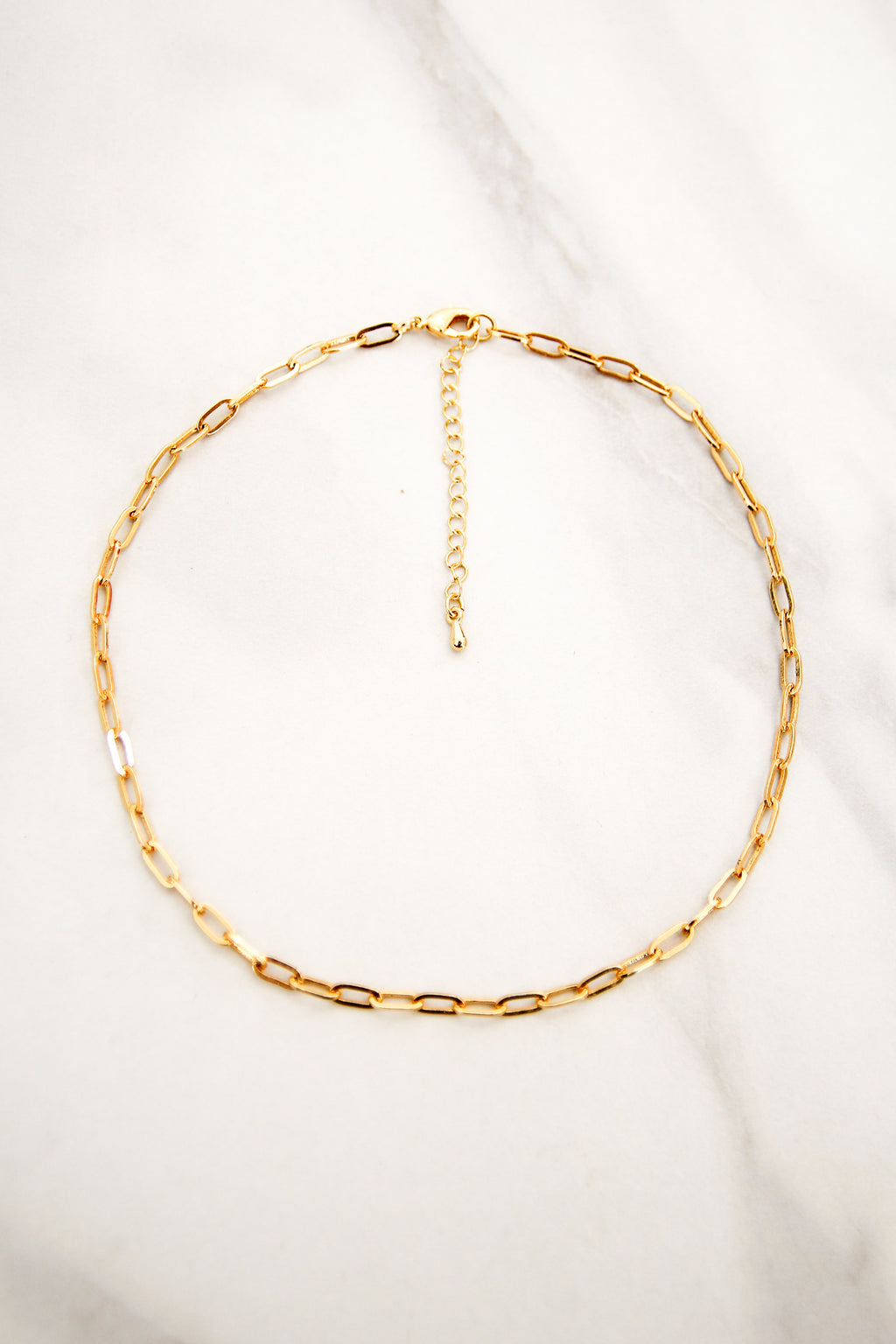 Layer It Up Chain Choker - Gold