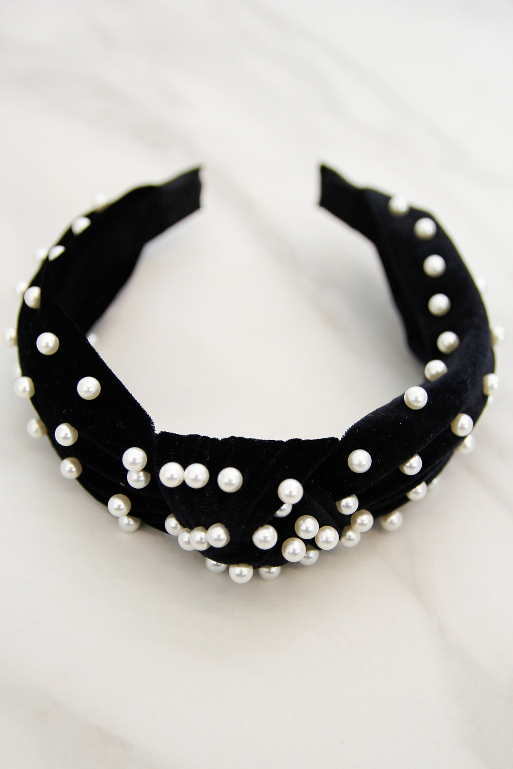 Holiday At The Plaza Headband - Black