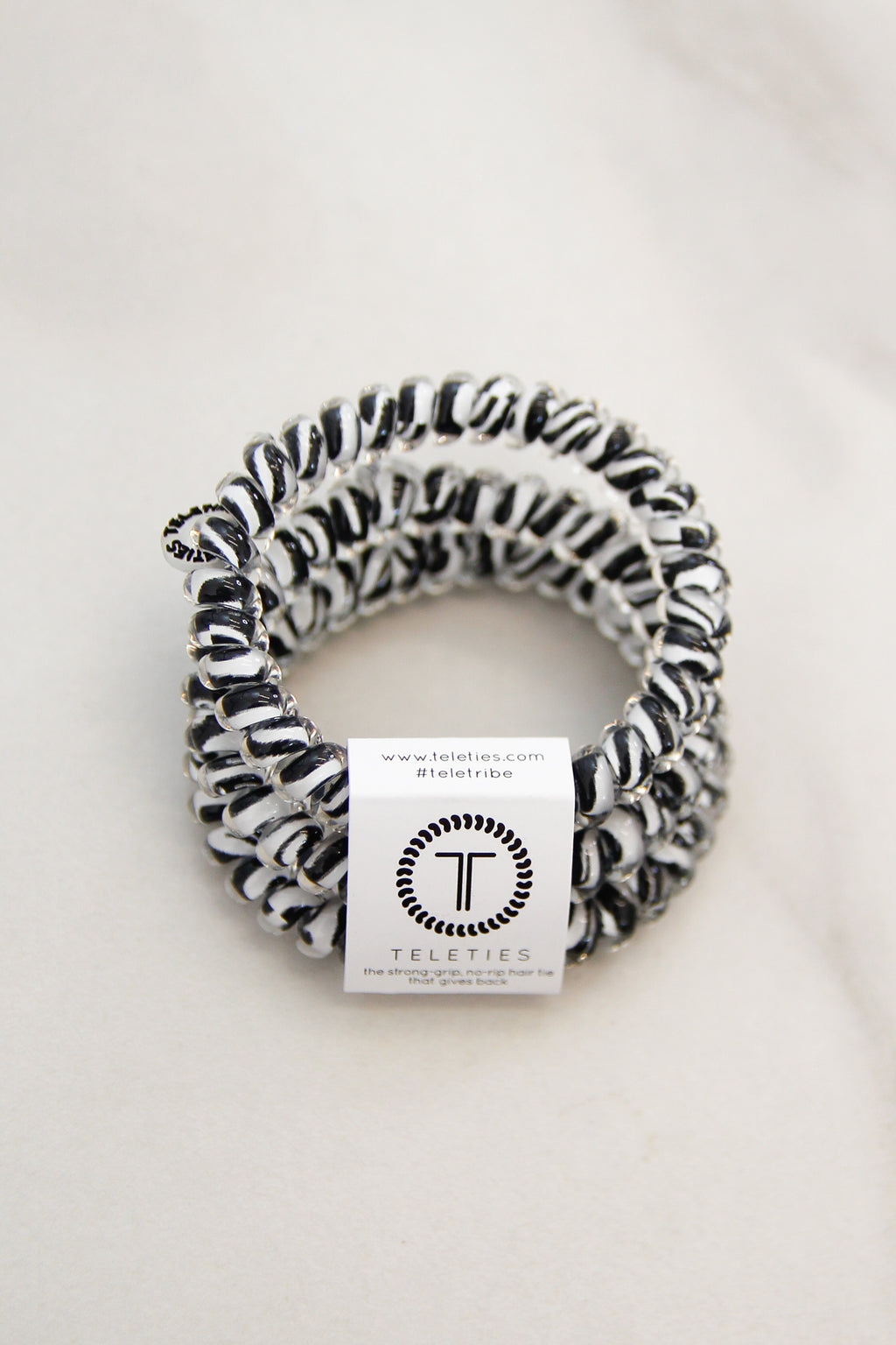 Teleties Small Hair Ties - Zebra