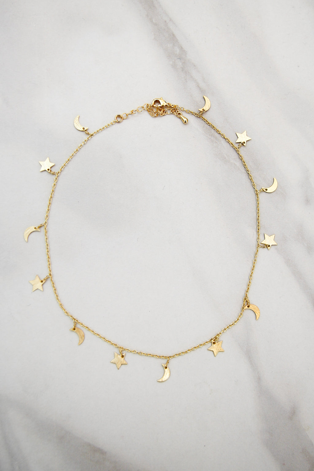 Starry Night Choker - Gold
