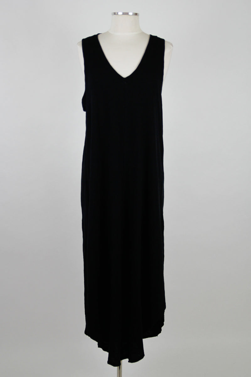 Z Supply V-Neck Maxi Dress - Black