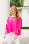 Spring Breeze Sweater - Pink
