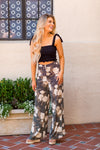 Amuse Society Shady Shack High Waisted Pants - Black