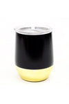 Stemless Wine Tumbler- Black