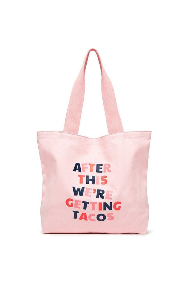 Ban.dō Canvas Tote- After This We're Getting Tacos