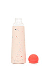Ban.dō Cool It Glass Water Bottle- Confetti