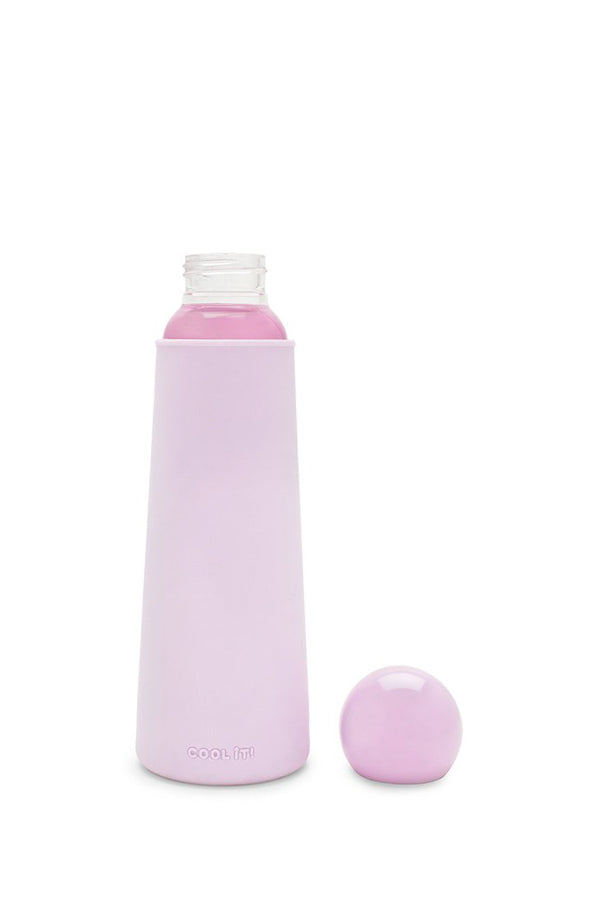 Ban.dō Cool It Glass Water Bottle- Lilac