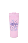 Ban.dō Hot Stuff Thermal Mug- Not Without My Coffee