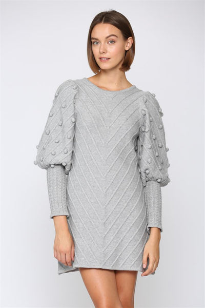 Let It Snow Sweater Dress The Impeccable Pig