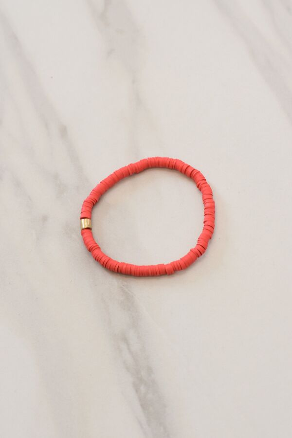 Stack 'Em Up Bracelet - Red