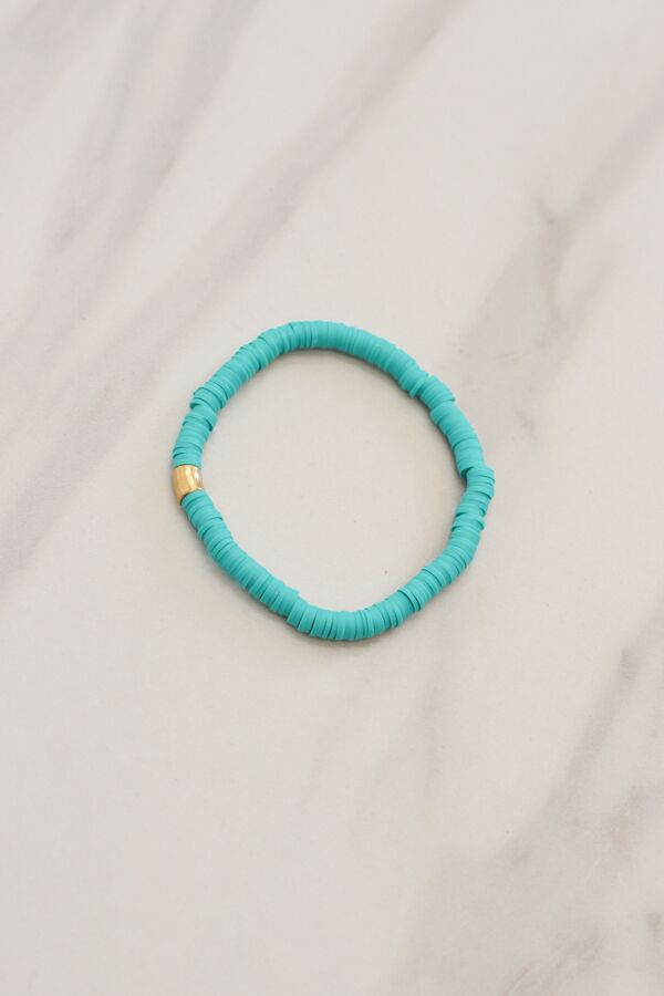 Stack 'Em Up Bracelet - Teal