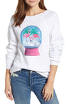 Wildfox Snowy Tropics Sommers Sweater- White