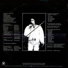 Bob Dylan Street Legal Back Cover