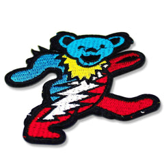 grateful dead dancing bear patches