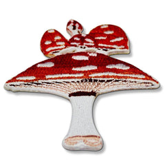 Cute Magic Mushroom Patch