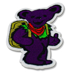 Grateful Dead Purple Dancing Bear