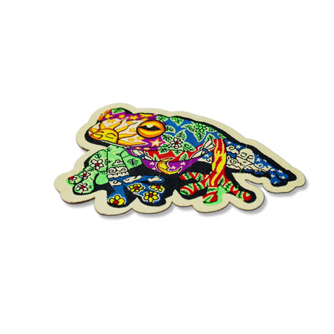 peace frog patch