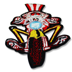 Grateful Dead Uncle Sam Skull Patch