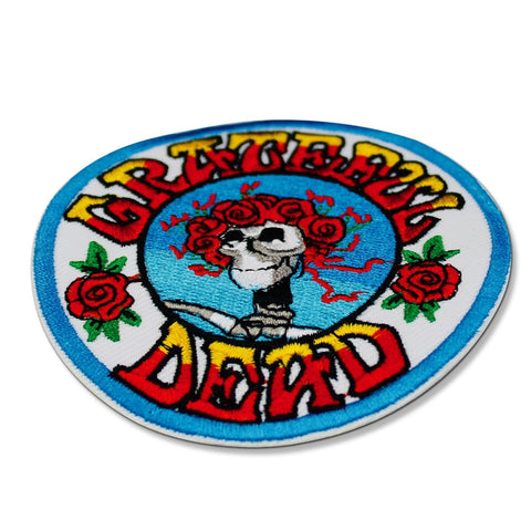 Grateful Dead Skull and Roses Patch
