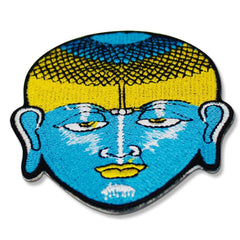 buddha head patch