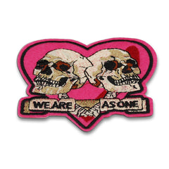 We Are As One Skull Patch