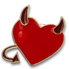 Devil Heart Pin
