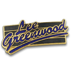 Lee Greenwood Country Legend Pin