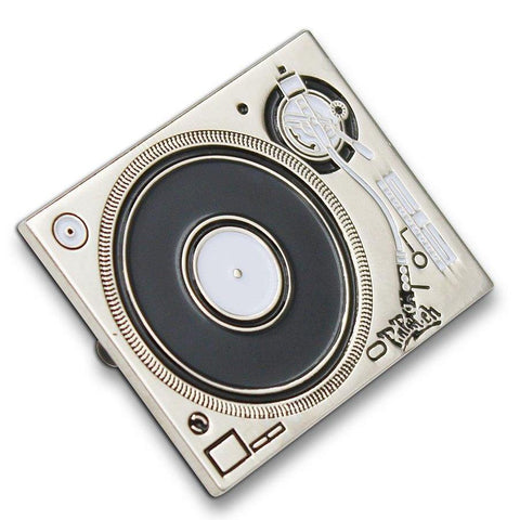 Limited Edition Technics Turntable Enamel Pin