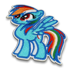 Rainbow Dash Iron On Patch