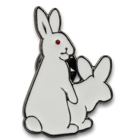 Naughty Bunnies Pin
