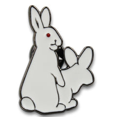 Dirty Bunnies Pin