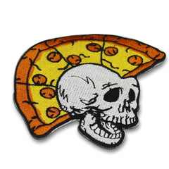 Pizza Head Patch