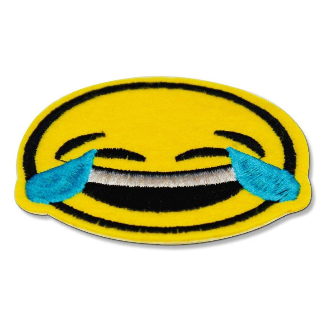 db1d149d299 Crying Laughing Emoji Patch  ON SALE NOW!
