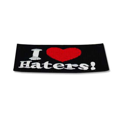 I Love Haters Patch