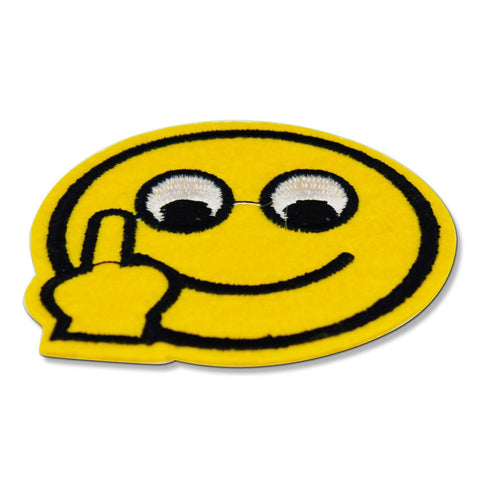Middle Finger Emoji Patch