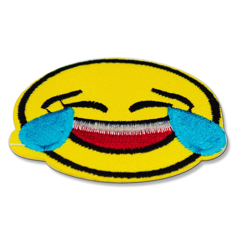 Crying Smiling Emoji Patch