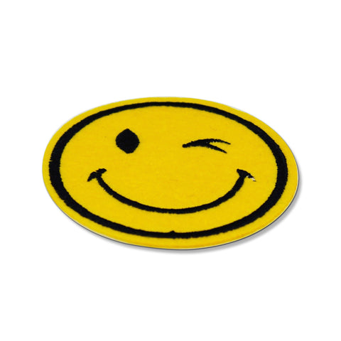 Winking Emoji Patch