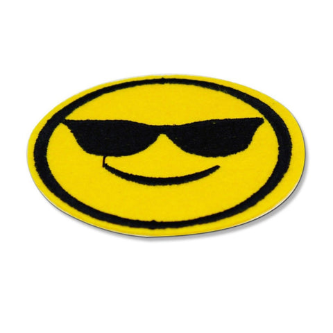 sunglasses emoji patch