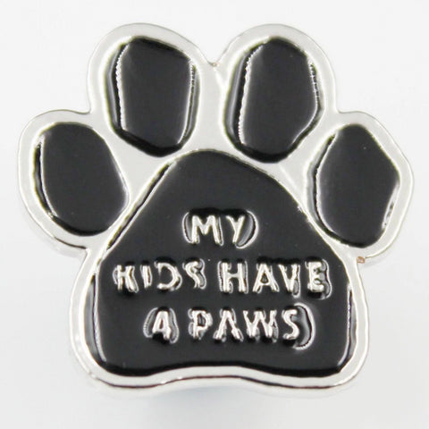 My Kids Have 4 Paws Pin