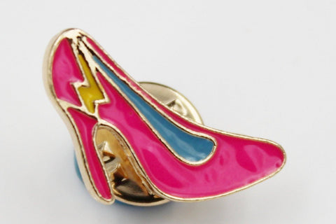 Pink High Heel Pin