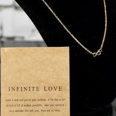 Infinite Love Charm Necklace