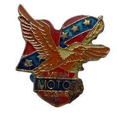 Vintage Mean Motor Machines Pin