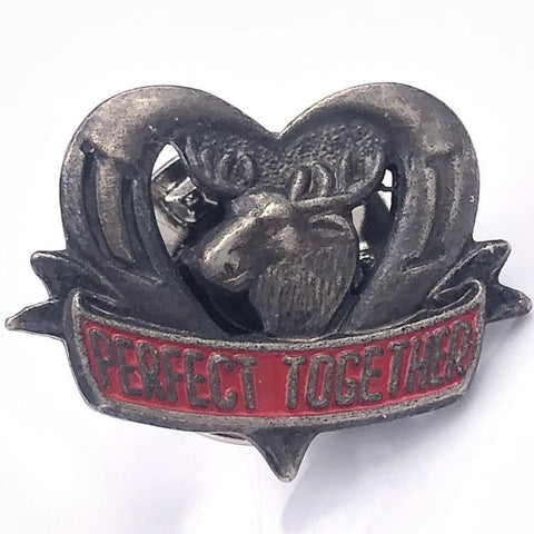 Perfect Together Moose Pin