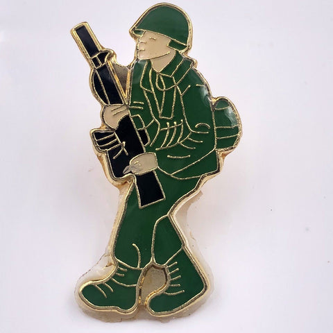 Soldier Pin