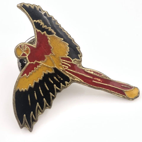 Colorful Parrot pin