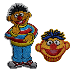 Ernie Sesame Street Patches