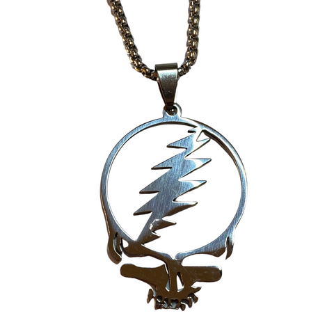 Grateful Dead Steal Your Face Necklace
