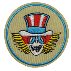 Grateful Dead Uncle Sam Patch