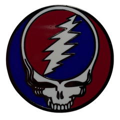 Grateful Dead Steal Your Face Pin